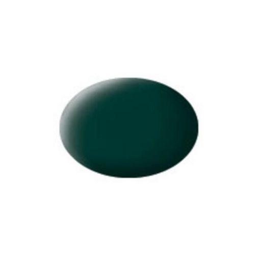 Revell AQUA BLACK-GREEN MATT akril makett festék 36140