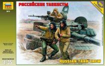RUSSIAN MODERN TANK CREW figura makett Zvezda 3615