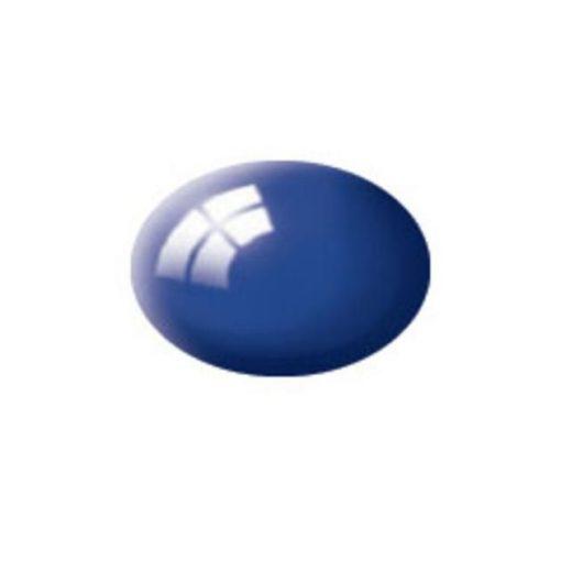 Revell AQUA ULTRAMARINE-BLUE GLOSS akril makett festék 36151