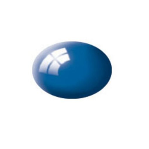 Revell AQUA BLUE GLOSS akril makett festék 36152