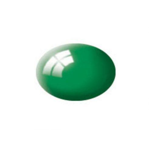 Revell AQUA EMERALD GREEN GLOSS akril makett festék 36161