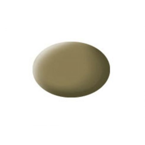 Revell AQUA OLIVE BROWN MATT akril makett festék 36186