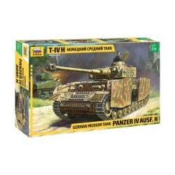 Zvezda Panzer IV. Ausf H tank makett 3620
