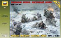 GERMAN INFANTRY. EASTERN FRONT Winter 1941-1942 figura makett Zvezda 3627
