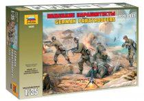 German Paratroopers (Crete 1941) figura makett Zvezda 3628