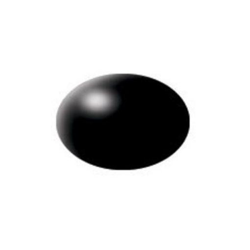 Revell AQUA BLACK SILK akril makett festék 36302
