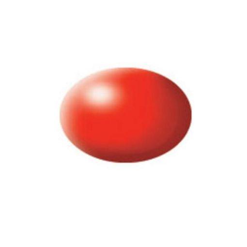 Revell AQUA LUMINOUS RED akril makett festék 36332