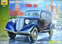 GaZ-M1 autó makett Zvezda 3634