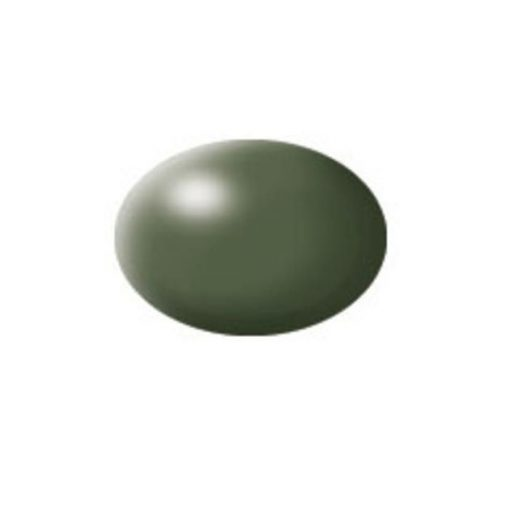 Revell AQUA OLIVE GREEN SILK akril makett festék 36361