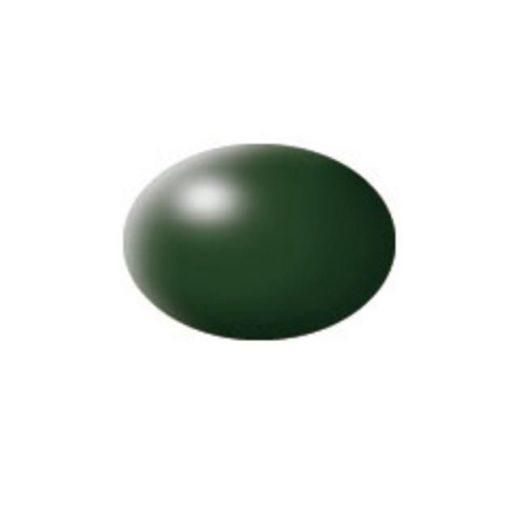 Revell AQUA DARK GREEN SILK akril makett festék 36363