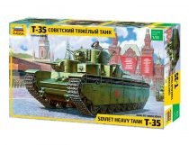 T-35 Heavy Soviet Tank makett Zvezda 3667
