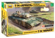 Zvezda Russian Modern Tank T-14 tank makett 3670