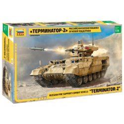 Zvezda BMPT-72 Terminator 2 tank makett 3695