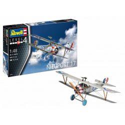 Revell Nieuport 17 repülőgép makett 1:72 (3885)