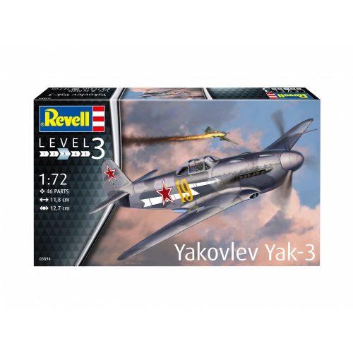Revell Yakovlev Yak-3 repülőgép makett 3894