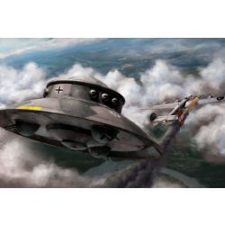 Revell Flying Saucer Haunebu makett 3903
