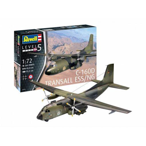 Revell C-160 Transall Eloka repülőgép makett 1:72 (3916)