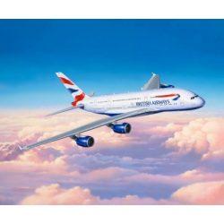 Revell A-380-800 British Airways repülőgép makett 3922