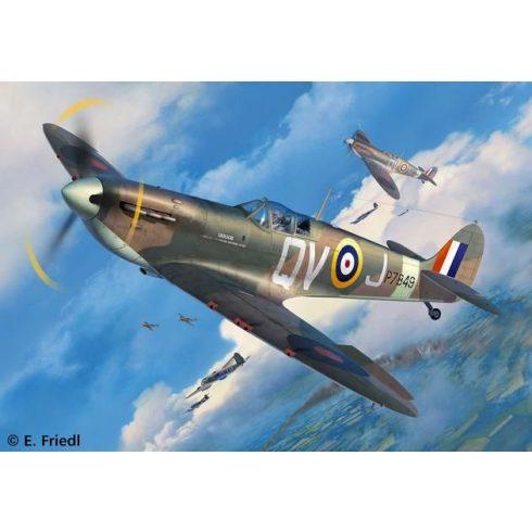 Revell Supermarine Spitfire Mk.IIa repülőgép makett 3986