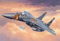 F-15E Strike Eagle katonai repülő makett revell 3996