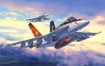 F/A-18E Super Hornet katonai repülő makett revell 3997