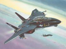 F-14A Black Tomcat repülő makett revell 4029