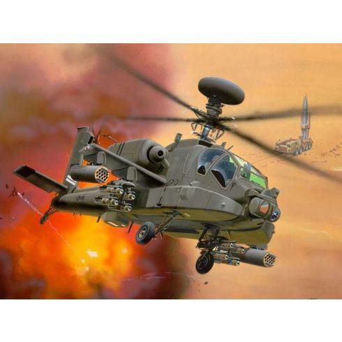 Revell AH-64D Longbow Apache helikoter makett 4046