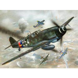 Messerschmitt Bf 109 G-10 repülő makett revell 4160
