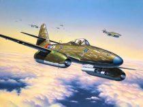 Revell Messerschmitt Me 262 A-1a katonai repülő makett 4166