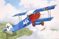 Fokker D VII repülőgép makett revell 4194