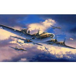 Revell B-17F 'Memphis Belle' katonai repülő makett 4279
