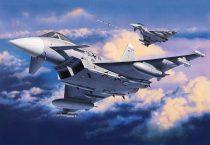 Eurofighter Typhoon (Single Seater) katonai repülő makett revell 4282