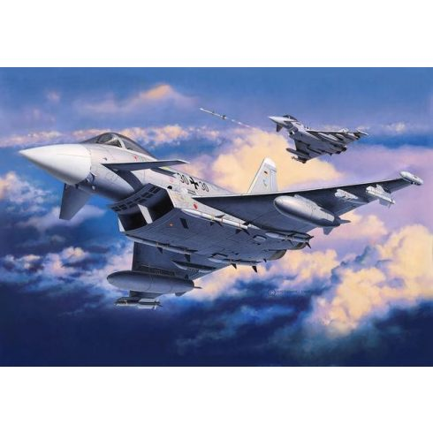 Revell Eurofighter Typhoon (Single Seater) katonai repülő makett 4282
