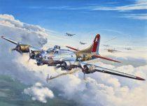 Revell - B-17G 'Flying Fortress' katonai repülő makett revell 4283