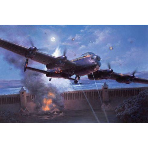Lancaster B.III 'Dambusters' repülőgép makett revell 4295