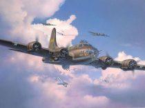 Revell B-17F 'Memphis Belle' repülőgép makett 4297