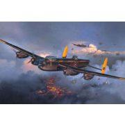 Avro Lancaster Mk. I III katonai repülő makett revell 4300