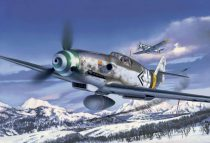 Revell Messerschmitt Bf109 G-6 Late & early version katonai repülő makett 4665
