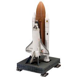 Space Shuttle Discovery & Booster Rockets űrhajó makett revell 4736