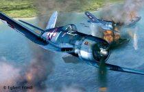 Revell Vought F4U-1A Corsair repülőgép makett 4781