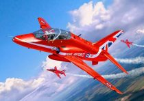 Revell - BAe Hawk T.1 Red Arrows repülőgép makett