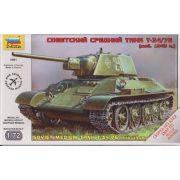 Soviet Medium Tank T-34/76 tank makett Zvezda 5001