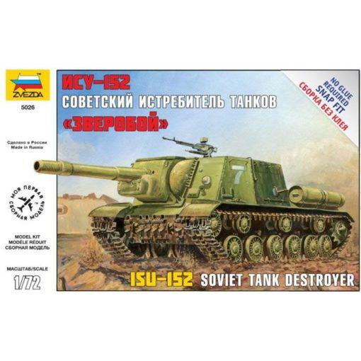 Zvezda ISU-152 tank makett 5026