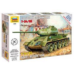 Soviet Medium Tank T-34/85 tank makett Zvezda 5039