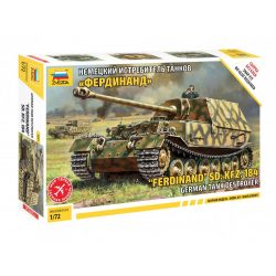 Zvezda Sd.Kfz.184 Ferdinand Tiger German Tank Destroyer makett 1:72 5041
