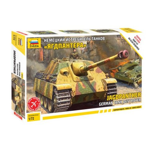 Zvezda Jagdpanther tank makett 5042