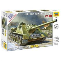 Zvezda Soviet Self-propelled Gun SU-100 1:72 (5044) tank makett