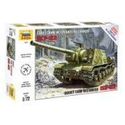 Zvezda ISU-122 tank makett 1:72 5054