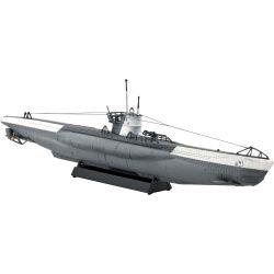 U-Boot Typ VIIC tengeralattjáró makett revell 5093