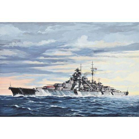 Revell Battleship Bismarck hajó makett 5098
